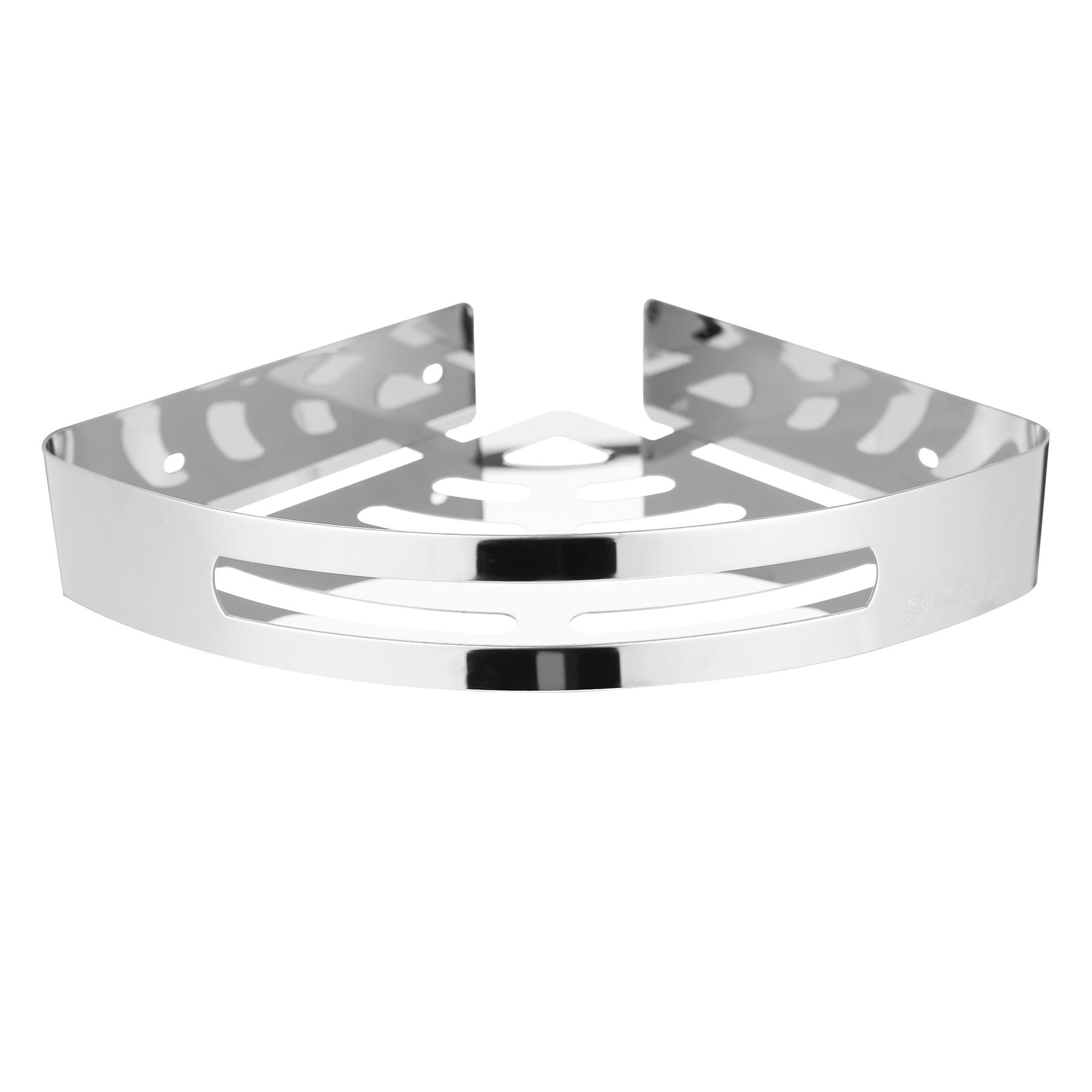 US$ 18.99 - Gloriest Corner Shower Basket, Stainless Steel Corner ...