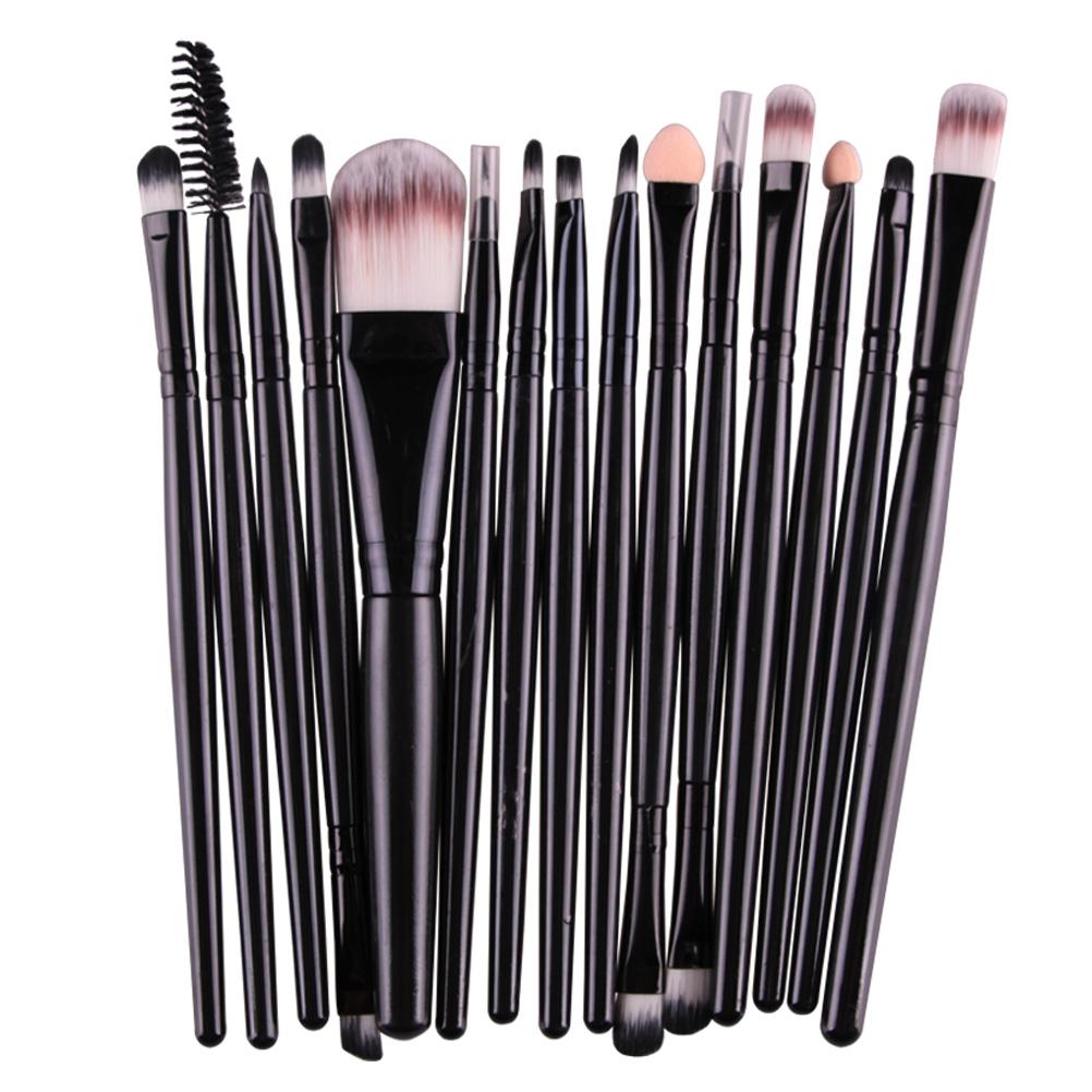 Eye Shadow Brushes Set Eyes Lips Eyebrow Eyeliner Makeup Brushes