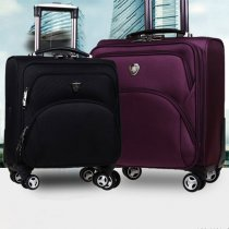 Horizontal business travel luggage starts from 14 inches to 20 inches with universal wheels for man and woman