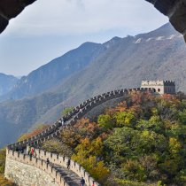 Beijing Mutianyu Great Wall One-day tour and visiting MEBO company
