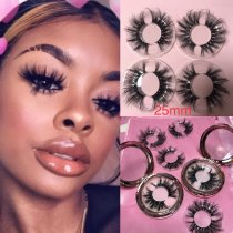 Retail 25MM queen 3d mink lashes sale