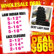Raw hair wholesale deal(6)