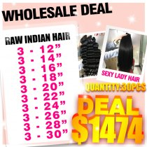 Raw hair wholesale deal(3)