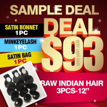 Raw Indian Hair Sample Deal
