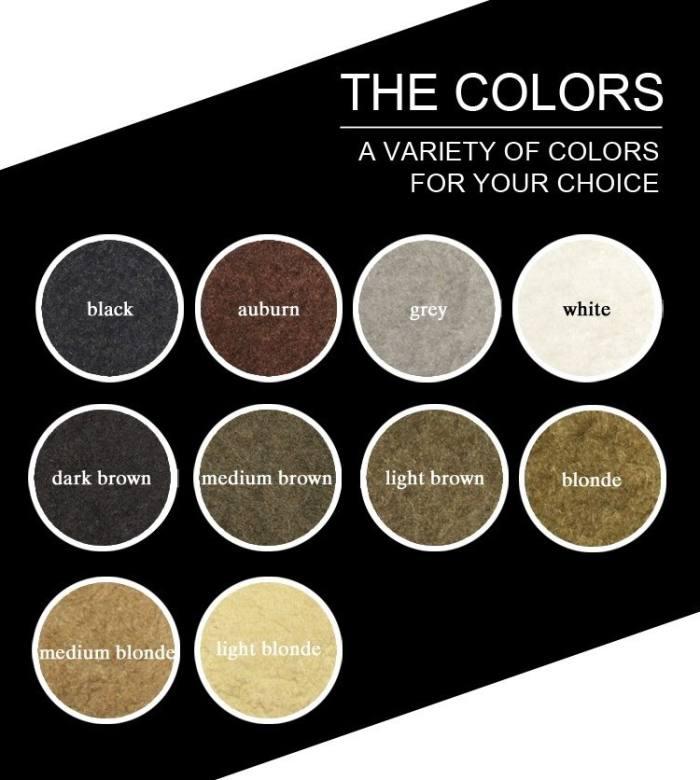 Hair Building Fiber 25g(10 colors)