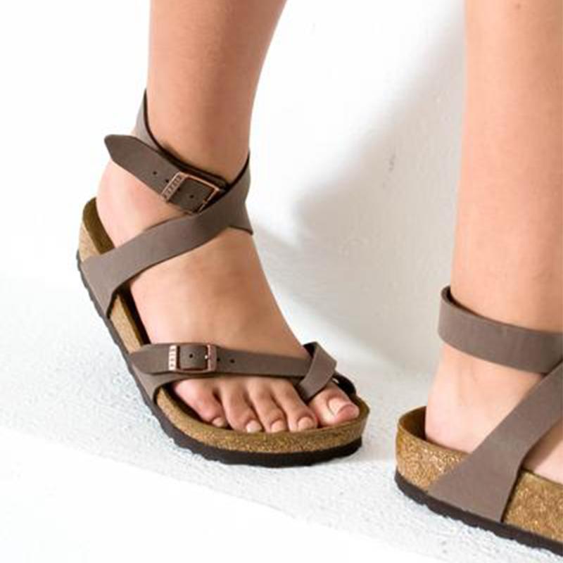 6b56e13df33 US  99.95 - Yara Hard Footbed Birkibuc Sandal   Mocha - www.shoeamor.com
