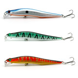 MINNOW Fishing Lure Hard Fishing Baits Top Water fishing Lure bass fishing tackle,12CM/4.72  10g/0.35oz