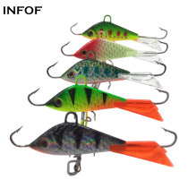 Ice Jig Fishing Lure Jigging Rap 7.5g/5cm  Winter Carp Fishing Bait Artificial Metal Jig