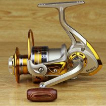 12BB 5.5 : 1 Fishing Reel Metal Spool sea rock Spinning Fishing Reels Carretilha Pesca Spinning Wheel