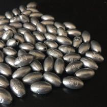 100 pieces/lot  bulk egg Fishing sinker, Fishing weight, 0.35 g to 8 g