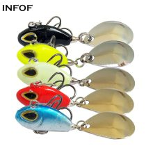 11g/5.5cm Hard Fishing Lure Tail Spin  Spinner Bait VIB Saltwater Fishing Bait Swimbait Crankbait