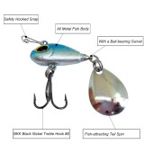 11g/5.5cm Hard Fishing Lure Tail Spin  Spinner Bait VIB Saltwater Fishing Bait Swimbait Crankbait