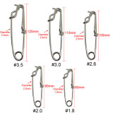 Stainless Steel Fishing Long Line Clips Snap for sea fishing  ,Wire diameter 1.8 mm to 3.5 mm