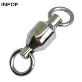 Fishing Ball Bearing Swivels with solid ring ,Rated from 30 LB TO 480 lb