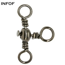 3 Way Stainless steel  Fishing Barrel Swivel  ,rated from 29 lb to 148 LB
