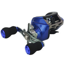 Baitcasting Reel Saltwater Casting Fishing Reels 6.3:1 17+1BB Magnetic Braking Carp Fishing Wheel Baitcaster
