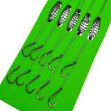 Snelled Baitholder Hooks 7#-13# Drop Shot Rig High Carbon Steel Fishing Hook Fishhook Carp Fishing Tackle
