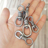 Stainless Steel Fishing Swivel, Hook Lure Connector High Strength for Tuna Longline Sea Saltwater Fishing