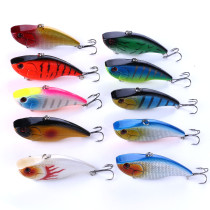 Winter VIB Fishing Lures 18g/0.635oz 7.5cm/2.95in VIBE Bait  With Lead Inside Lead Fish Ice  Fishing Tackle