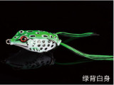 21 colors Topwater Frog bait  6g/10g/14g Soft Fishing Lure Silicone Artificial Bait Frogs For Snakehead Fishing Tackle