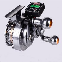 Aluminium alloy Electric count wheel fly fishing reel 6+1 BB bass fishing gear 3.6:1 fly fishing  wheels