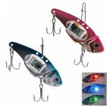 LED Light Fishing Lure Treble Hook Electronic Fishing Lamp Bait Tackle Fish Lure Light Flashing Lamp lure