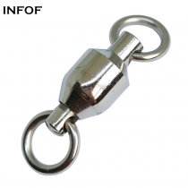 1000 pieces/bag Fishing Ball Bearing Swivels with solid ring ,Rated from 30 LB TO 480 lb