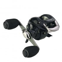 Baitcasting Reel 6.2:1 12+1BB Max Drag 15Lbs Magnetic Braking Baitcast Reel for Carp Fishing Saltwater Fishing Wheel