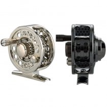 Fly Fishing Reel Full Metal 2+1BB Aluminum Alloy Die Casting Fly Reel with Large Arbor Spool