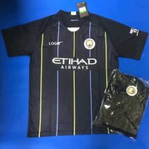 2019 Men Manchester City Away Soccer Uniform kit