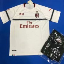 2019/20 Men AC Milan Away Soccer Uniform kit