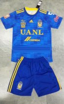 2019/20 AAA Quality Men Tigres Away Soccer Uniforms Blue