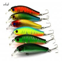 Saltwater Fishing Lures Laser Salwater 3D Minnow Fishing Lures Salt Swimbait Wobbler