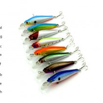 Minnow Fishing Lures Wobblers Artificial jig bait Hard Fishing Bait shone fishing tackle