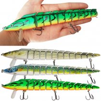 Fishing Lures Bass Lures, High Carbon Steel Anchor Hook, Lifelike Multi Jointed Artificial Swimbait