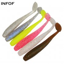 Rubber Bait Fishing Lure Jig Wobbler Soft Worm Carp Fishing Bait Artificial Silicone Swimbait