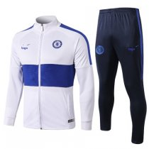 2019-20 men Chelsea jacket white soccer uniforms football kits