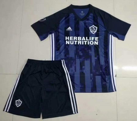 on sale 83e2a f873a 19-20 Adult LA Galaxy Away Soccer Jersey Football Uniforms Blue Soccer Kits