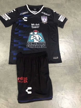 2019/20 AAA Quality Men Pachuca Soccer Uniforms Black