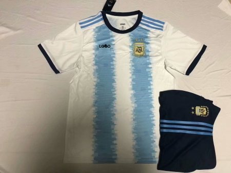 2019/20 Men's Argentina Copa America Home Jersey Uniform