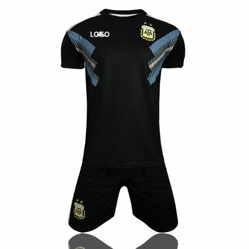 quality design bbc4d 98842 2018 Argentina Away Adult Men World Cup Soccer Jersey Kits Football  Uniforms Cheap Soccer Jerseys