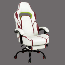 Gaming Chair High Back Racing Recliner Office Chair w/Lumbar Support & Footrest