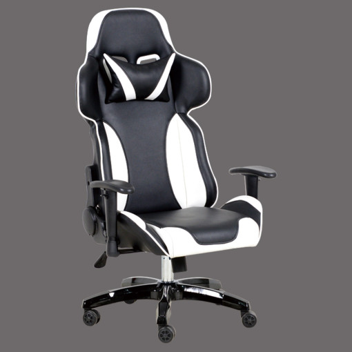 PU Leather Modern Style Office Reclining Racing Gamer Chair