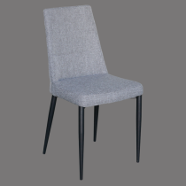 Dining chair fabric gray