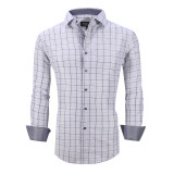 Mens Printed Casual Long Sleeve Dress Shirt print-01-A7163