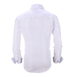 Mens Printed Casual Long Sleeve Dress Shirt print-01-19-340