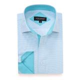 Mens Printed Casual Long Sleeve Dress Shirt print-01-K1670
