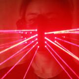 Burning Man Laser Light Half Face Mask Face Bandana Festival EDM Rave Outfits Coachella