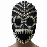 Burning Man Rave Costumes Drag Queen Accessories Halloween Couturte Mask Headpiece Head Dress Festival Clothes Outfits Stage Gear Show