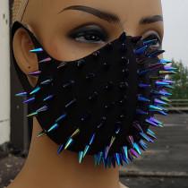 Dust Mask,Mouth Mask,Halloween Costume,Festival Mask, Burning Man Mask, Rider Mask,Spike Mask
